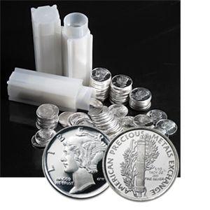 Apmex 1/10 oz 999 Silber Silver Silbermünze Mercury Dime Liberty Lady