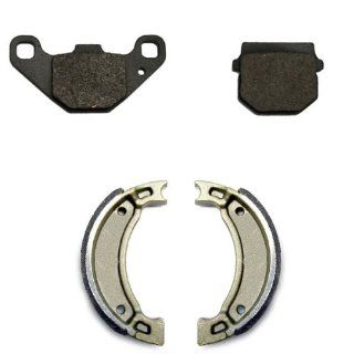2007 2009 ADLY Jet 50 Front & Rear Brake Pads and Shoes