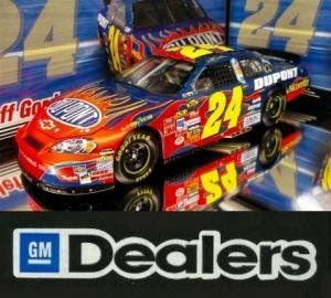 JEFF GORDON #24 DUPONT 2007 GM DEALERS MOTORSPORTS