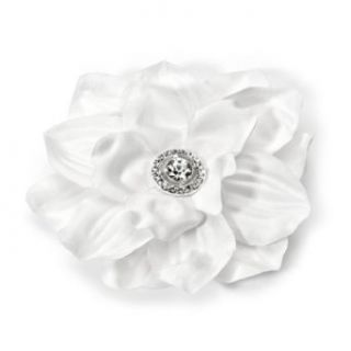 com Wedding Hair Flower, Diamond White with Rhinestone 2007 Clothing