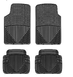2007 2011 Nissan Sentra Black WeatherTech Floor Mat (Full Set