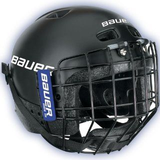 Bauer Techlite Youth Hockey Helmet w/Cage   2009 Sports & Outdoors