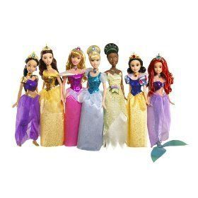 Doll Collection   NEW FOR 2009 INCLUDES NEWEST PRINCESS! Toys & Games