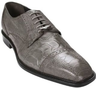Belvedere Mens Lucca Genuine Osrich Oxford Shoes Shoes