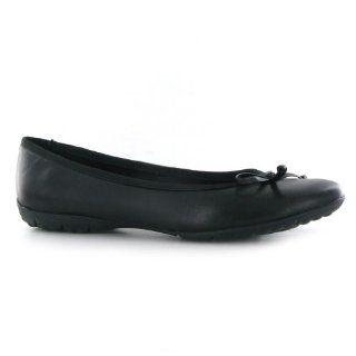 Clarks Arizona Heat Black Leather Womens Shoes Shoes
