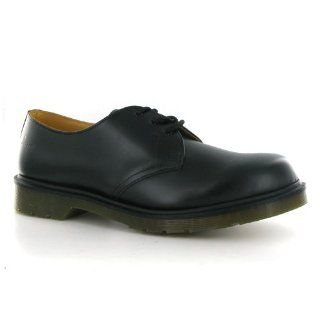 Dr.Martens 1461 Smooth Black Leather Mens Shoes Shoes