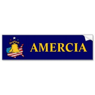 AMERICA MADE IN CHINA Bumper Sticker