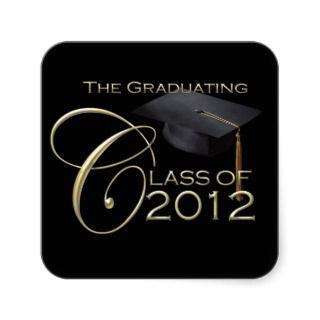 Class Of 2012 Stickers, Class Of 2012 Sticker Designs