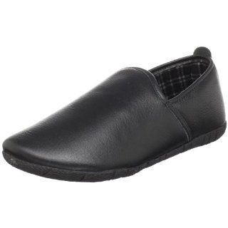 Foamtreads Mens Leon Slipper,Black,7 M Shoes