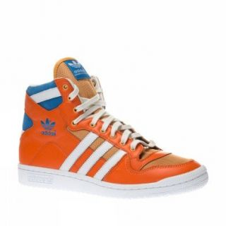 Adidas Trainers Shoes Mens Decade Og Mid Orange Shoes