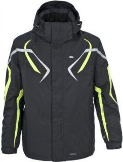 Trespass Mens Defied TP100 Ski Jacket, Black, Small