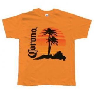 Corona   Retro Beach T Shirt Clothing