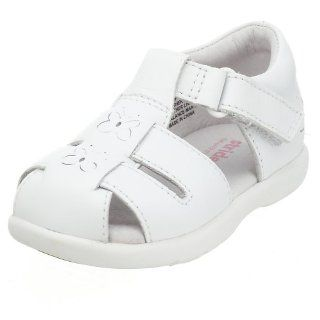 Infant/Toddler Baby Guppy Stage 3 Sandal,White,3 W US Infant Shoes
