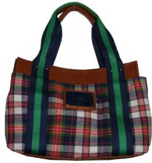 Womens Tommy Hilfiger Small Iconic Tote Handbag (Plaid