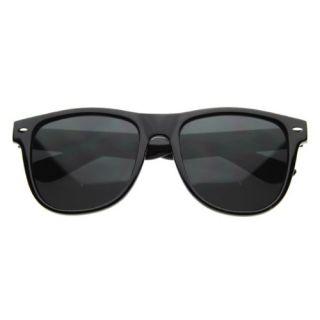 Wayfarer Vintage Sunglasses Black Smoke Mens Womens NEW Shoes