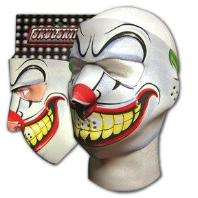 New Joker Clown Neoprene Full Face Mask Muzzle Motorcycle