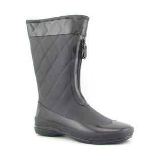 London Fog Womens Tribeca Winter Boots,Black,6 M US Shoes