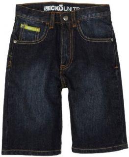 Ecko Unltd. Boys 2 7 Jean Shorts,Dark Rinse With Blast,2T