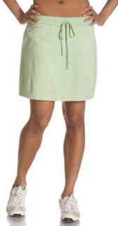 NYL New York Laundry Womens Loop Terry Skort , Green Vibe