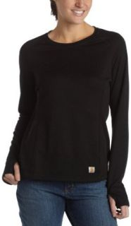 Carhartt Womens Midweight Work Dry Thermal Crewneck Top