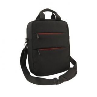 Olympia Luggage 14 Inch Laptop Messenger Bag, Black, One
