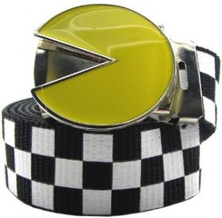 Officially Licensed Pac Man Checker Web Belt Clothing
