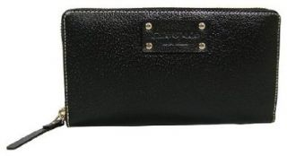 Kate Spade Neda Wellesley Black Leather Wallet: Shoes