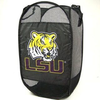 LSU TIGERS OFFICIAL PORTABLE POP UP LAUNDRY HAMPER Sports
