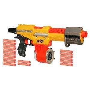 Nerf N Strike Exclusive Alpha Trooper CS 18 Dart Blaster: Toys & Games