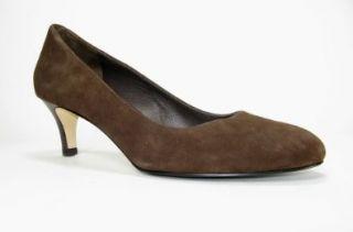 Cole Haan Air Clair Pump (Dark Chocolate Suede, 10) Shoes