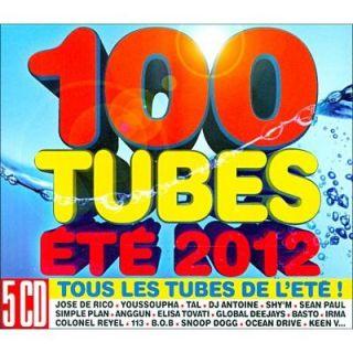 100 TUBES ETE 2012   Compilation   Achat CD COMPILATION pas cher