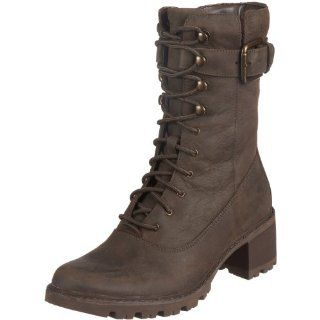 Rockport Womens Anna Boot,Dark Brown,5 M US Shoes