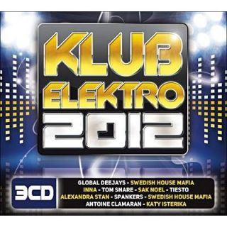 KLUB ELEKTRO 2012   Compilation   Achat CD COMPILATION pas cher