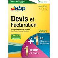 EBP Devis et Facturation Classic 2012 + Services à télécharger