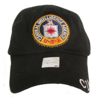 CIA Seal (Central Intelligence Agency) Hat   Black
