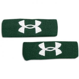 UNDER ARMOUR Adult Performance 1 Wristband ,FOREST GREEN