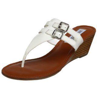com Steve Madden Womens Flirtty Sandal,White Patent,6.5 M US Shoes