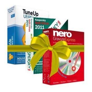 Kaspersky Anti Virus 2011 1 Pc + Tune Up 2011 + Nero Gravure Express