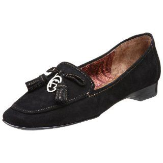 Etienne Aigner Womens Vita Slip On,Black,5 M Shoes