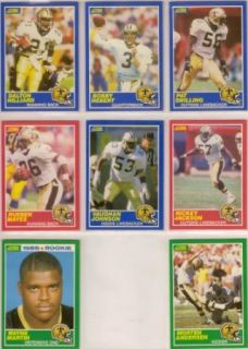 New Orleans Saints 1989 Score Football Team Set (Bobby