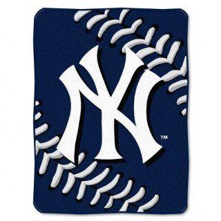 New York Yankees 60x80 Big Stitching Super Plush Throw