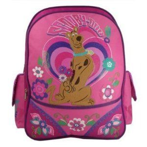 Scooby Doo Peace & Love Large Backpack (15 Inch) Shoes