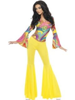Smiffys New Hippy/Hippie 60S 70S Lady Fancy Dress Costume