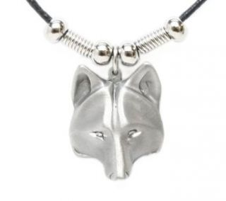 Earth Spirit Necklace   Wolf Head   Earth Spirit Necklace