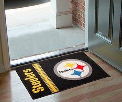 NFL Pittsburgh Steelers Uniform Inspired Rug Sports
