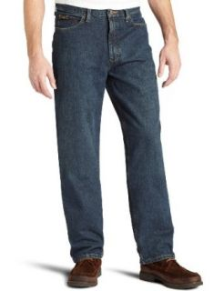 Lee Mens Relaxed Fit Tapered Leg Jean,Dark Blue Fade