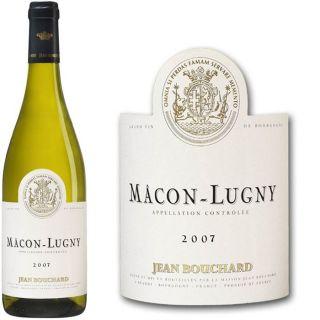2007   Achat / Vente VIN BLANC Jean Bouchard Mâcon Lugny 2007