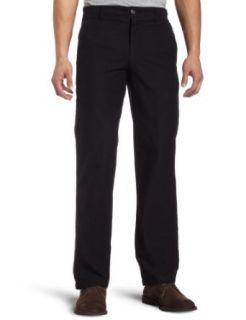Dockers Mens D1 Slim Khaki Flat Front Pant,Black,32x30