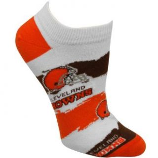 NFL Cleveland Browns Womens Wave Ankle Socks Clothing