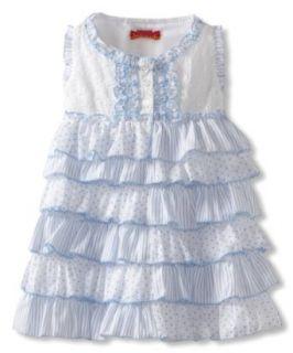 Kate Mack Baby Girls Infant Baby Dress Clothing